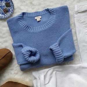 J. Crew▪Periwinkle Blue Sweater